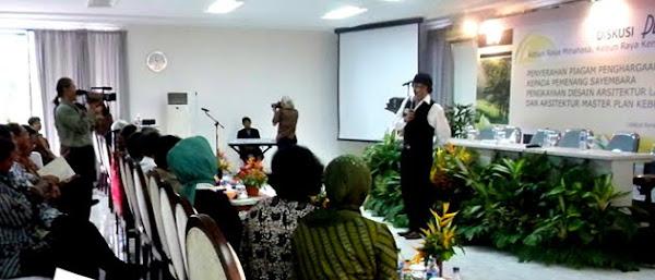 A Brief Speech by Ikang Fawzi at LIPI - Bogor's Kebun Raya