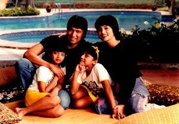 Keluarga Ikang Fawzi dan Marisa Haque