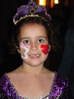 Princess Harlie at our last Trunk or Treat