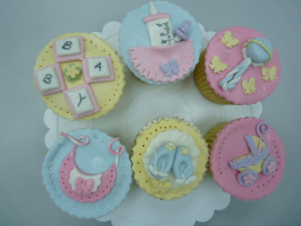 Heavenly Cake Creations: Baby Shower Cupcake Class In ICCA Hartamas!