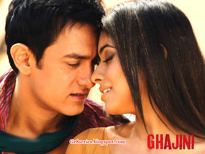 gajini wallpapers. Aamir Khan and Asin Ghajini