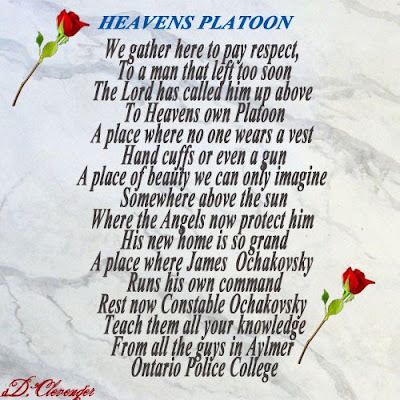 WRITINGS FOR YOUR LOVED ONES: Poems for Police Officers killed in the ...