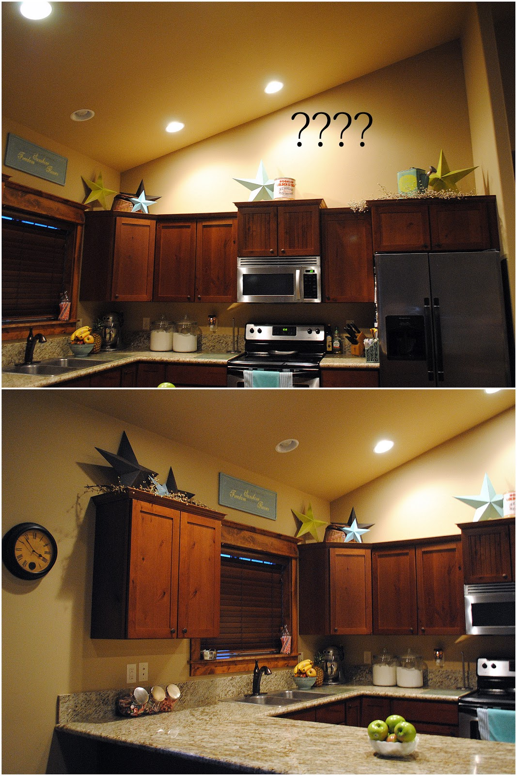 How to Decorate Vaulted Ceiling Kitchen