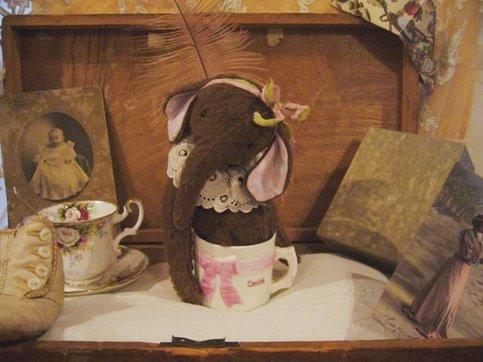 old teacup