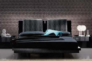 Diamond Platform Queen Beds