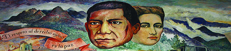 Mural de Benito Juárez Garcia