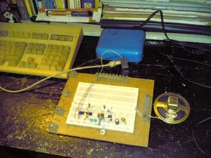Prototype of PS/2 Keyboard driven Morse Code Generator