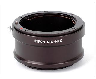 sony nex-5 nikon f lens adapter