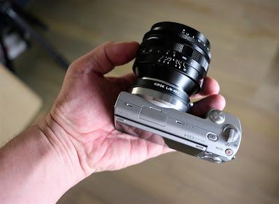 sony nex voigtlander 50mm nokton 1.1