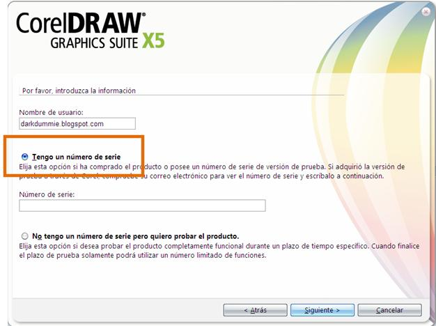 Keygen De Corel Draw X5