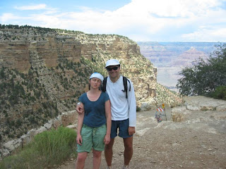 Top of South Kaibab Trail, South Rim of the Grand Canyon
