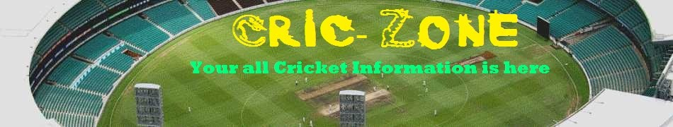 Cric-Zone - Cricket News | Information | Result | Schedule | ICC Cricket