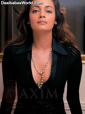 Diya Mirza, Sexy Hot Bollywood Girl