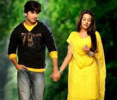 Shahid Kapoor and Aamrita Rao