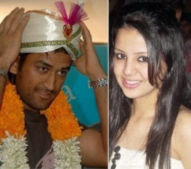 Dhoni Marriage Photos