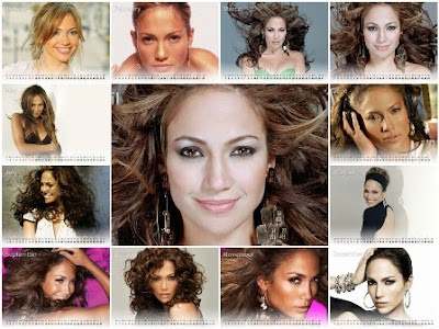 Jennifer Lopez New Year Calendar 2011