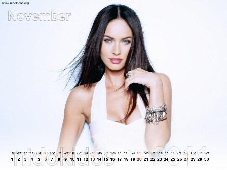 megan fox 2011 calendar. Megan Fox Desktop Calendar
