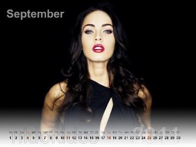 megan fox wallpaper 2011. Megan Fox Desktop Calendar
