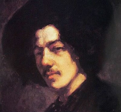 James McNeill Whistler - self portrait - 1858