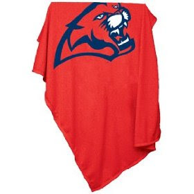 University of Houston sweatshirt blanket.