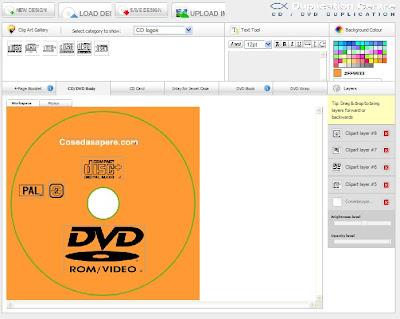 creare copertine cd e dvd