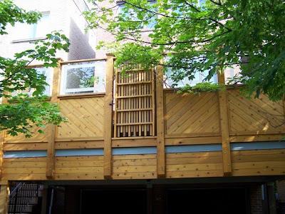 Landscape designer a unique dowtown backyard for Balcony ki design