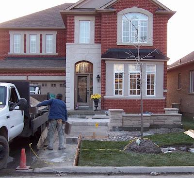 Site Blogspot  Front Yard Landscaping on Landscape Designer  The Evolution Of A Front Yard Landscape