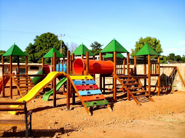 parques de madera de 6 torres