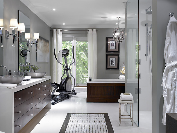 Beautiful Small Bathrooms. While Many Of Us Dream Of Having A Huge Bathroom  Like This.... (myself Included)