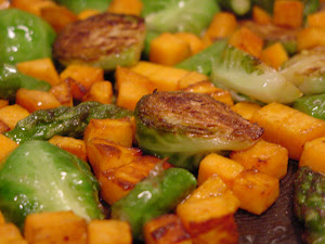 Stir Fry with Sweet Potatoes