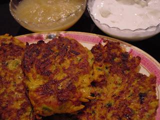 Be a Balaboosta: Sweet Potato Zucchini Latkes - A Healthier Chanukah ...