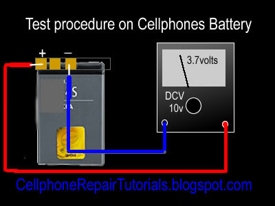 How to check Mobile Phone Battery Voltage Checking+battery