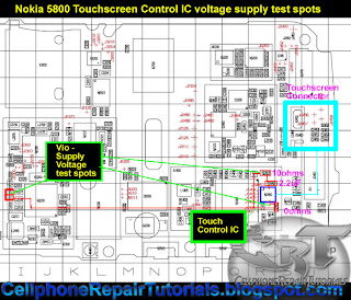 Nokia-5800-Touchscreen-Control-IC-voltage-supply-ways