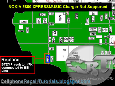 Nokia 5800 charger not