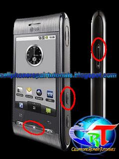 LG GT540 Optimus hard reset factory reset full reset LG GT540