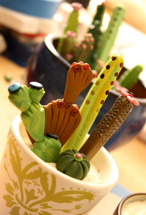 Polymer Clay Cactus Gardens! – Artists\' Blogs