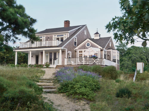 Falls design house tour one more cape cod cottage before for Beach house designs living upstairs