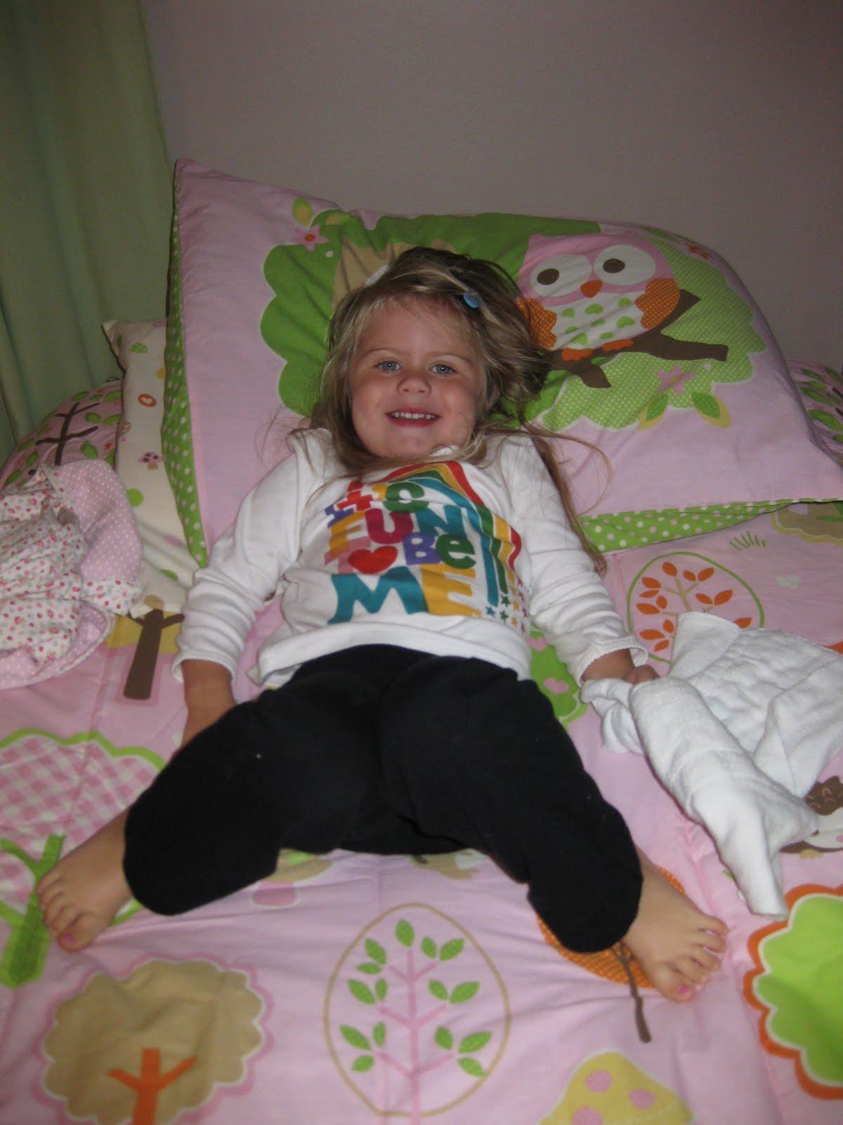 Hoskinson Household The Big Girl Bed