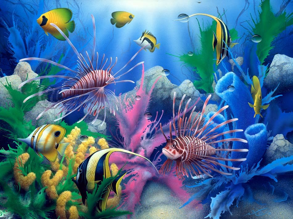 3D Nature Wallpaper Sea