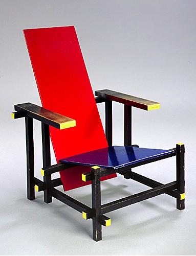 Les enfants de dada - La chaise rouge et bleue ...