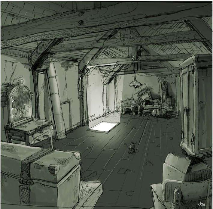 le grenier du faucon ceci est un grenier. Black Bedroom Furniture Sets. Home Design Ideas