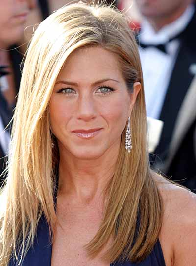 jennifer aniston very long hair