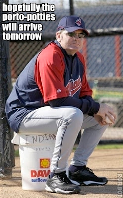 Eric Wedge, manager of your 2007 AL Central Division Champions, the Cleveland Indians