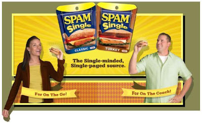 SPAM Singles: Gross but Funny.