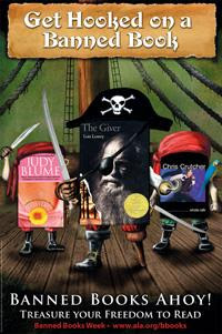 2007 Banned Books Week: Ahoy! Treasure Your Freedom to Read and Get Hooked on a Banned Book