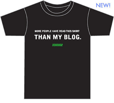More People Have Read This Shirt Than My Blog