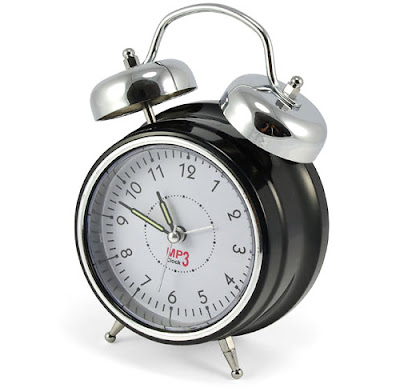Retro MP3 Alarm Clock