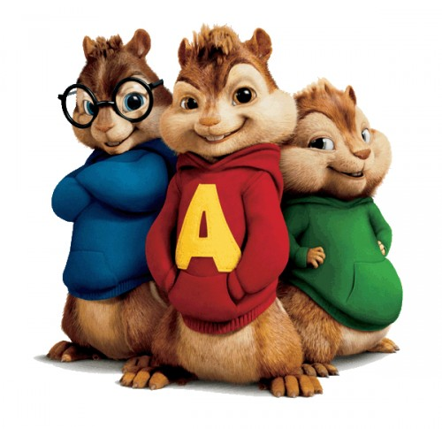 is about the adorable little chipmunks named: Alvin, Simon and Theodore.