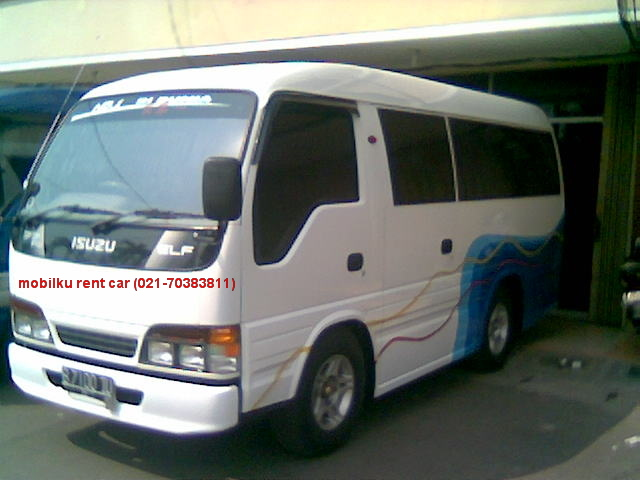 Executive minibus - Isuzu Elf