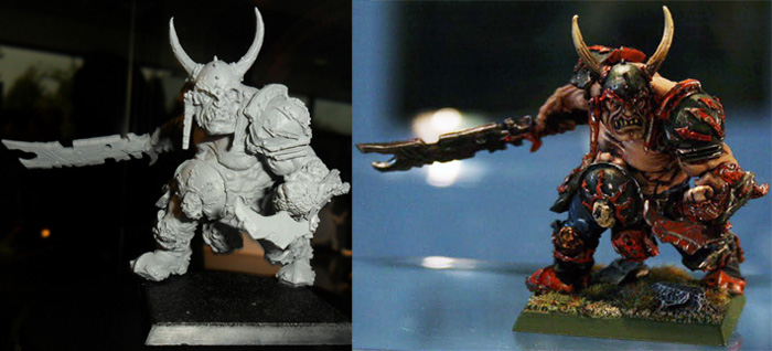 Warhammer Forge Chaos_ogre
